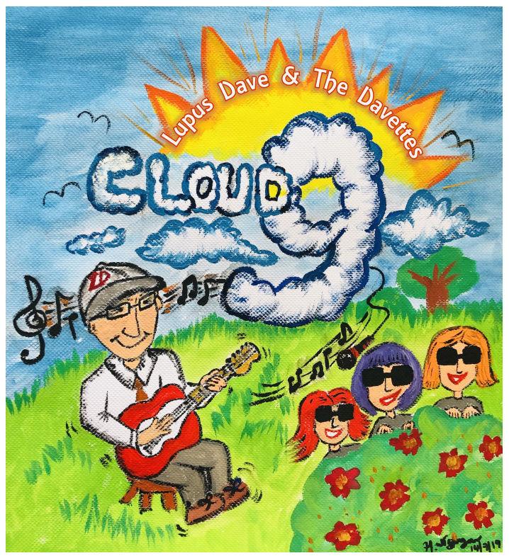 Cartoon image of Lupus Dave.