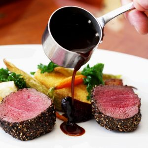 Venison steaks. Penny Ericson, Author - food is the key to healthy longevity
