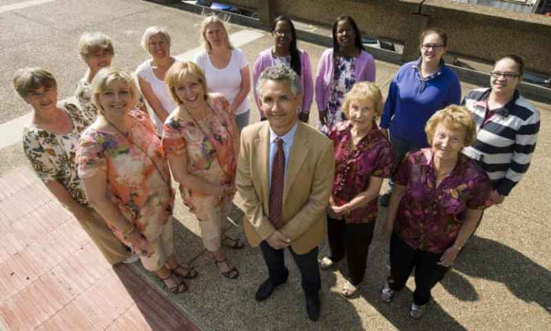 Tim Spector with TwinsUk study group