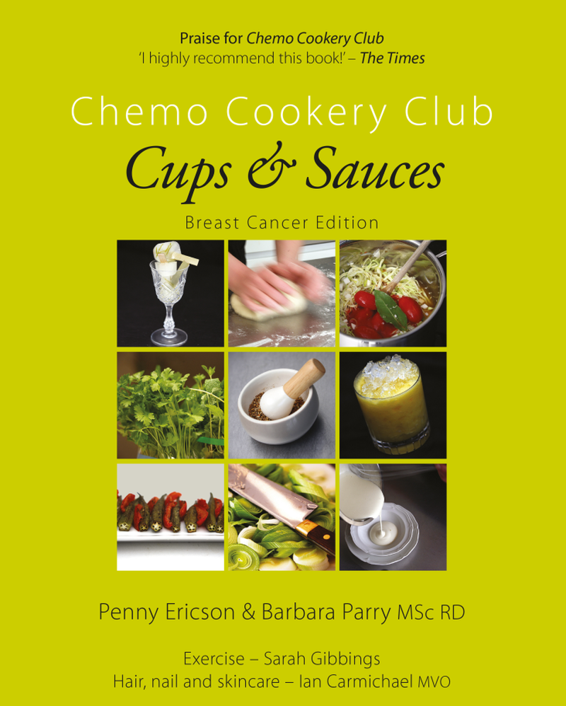 Cups and Sauces cookery book, Penny Ericson, Author - food is the key to healthy longevity