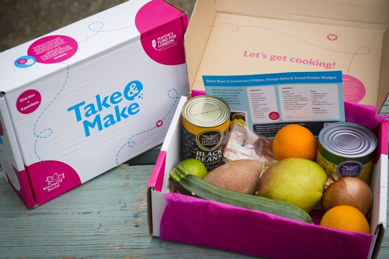 Take and make food box, Mayors fund for london
