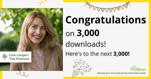 Reached LIVE longer the Podcast has reached 3000 downloads