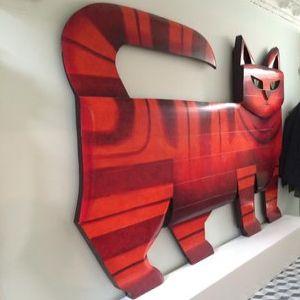 Cat, Graham Knuttal, Sculptor & Painter- Art Impacts Our Health