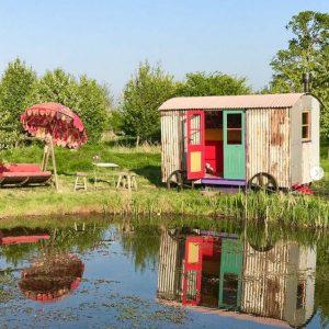 Shepherds Hut, Penny Horne, Landscape Artist - a restorative experience