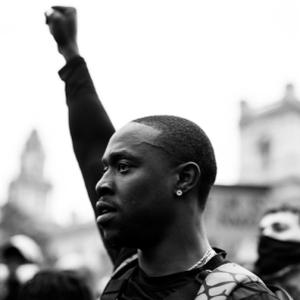 Black Lives Matter - Oscar J Ryan, Director/Photographer - Contentment of doing what he loves