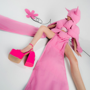 LADY IN PINK - Oscar J Ryan, Director/Photographer - Contentment of doing what he loves
