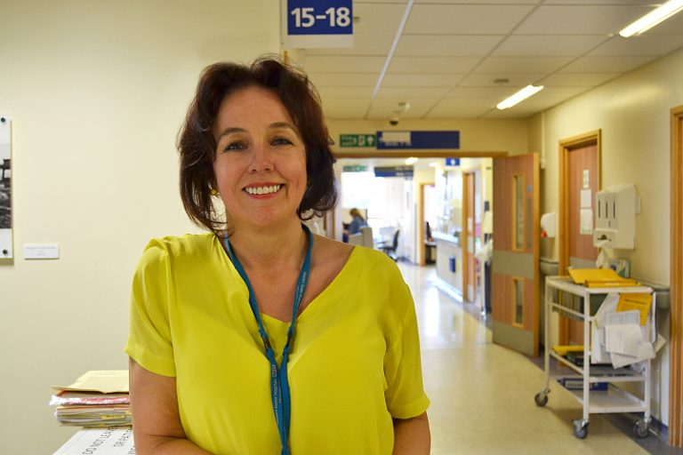 Dame Marianne Griffiths CEO of UHS
