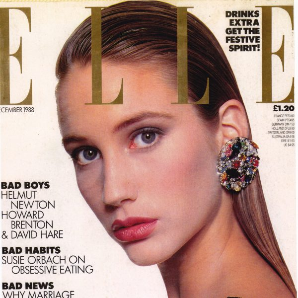 Lisa Butcher - Well-Being Expert in iLab Technique. Elle magazine cover.